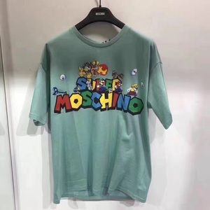 NWT moschino super Mario tshirt, size M, authentic